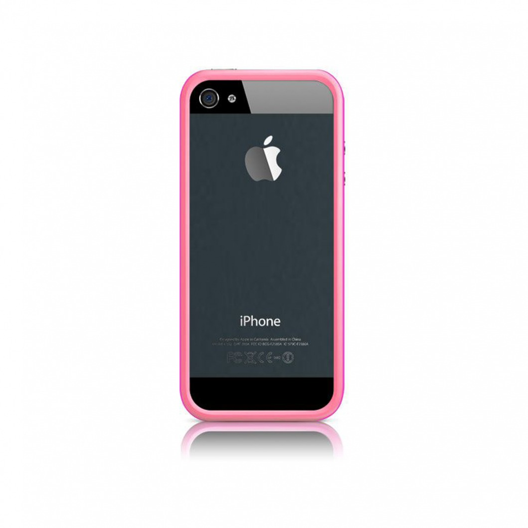 coque bumper iphone 5s 5 hq rose. Black Bedroom Furniture Sets. Home Design Ideas