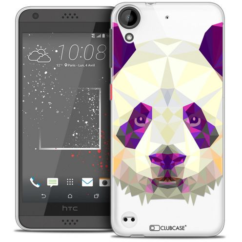 Coque Crystal Gel HTC Desire 530/630 Extra Fine Polygon Animals - Panda