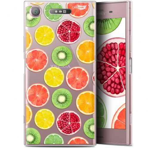 "Coque Gel Sony Xperia XZ1 (5.2"") Extra Fine Motif - Fruity Fresh"