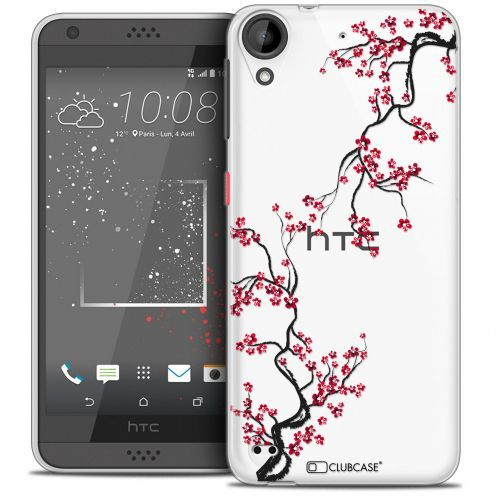 Coque Crystal Gel HTC Desire 530/630 Extra Fine Summer - Sakura