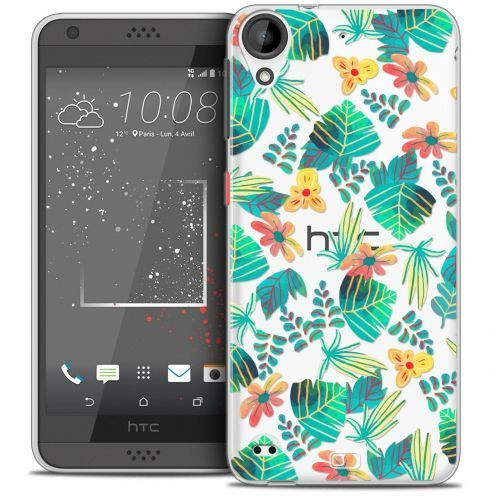 Coque Crystal Gel HTC Desire 530/630 Extra Fine Spring - Tropical