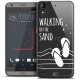 Coque Crystal Gel HTC Desire 530/630 Extra Fine Summer - Walking on the Sand