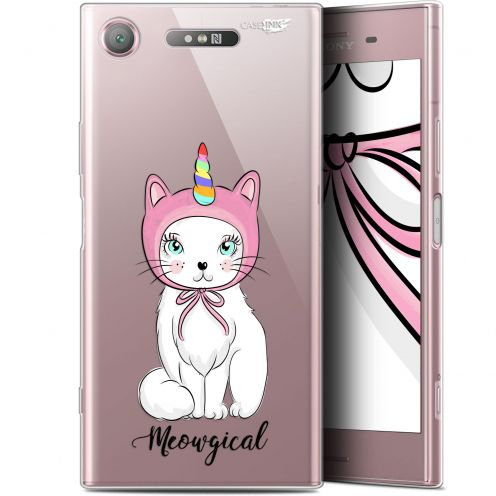 "Coque Gel Sony Xperia XZ1 (5.2"") Extra Fine Motif - Ce Chat Est MEOUgical"