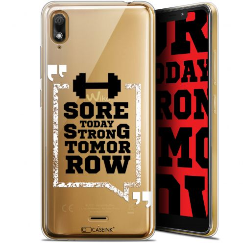 "Coque Gel Wiko View 2 GO (5.93"") Extra Fine Quote - Strong Tomorrow"