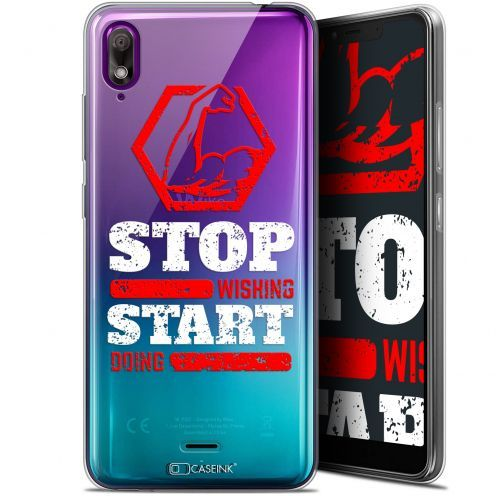 "Coque Gel Wiko View 2 GO (5.93"") Extra Fine Quote - Start Doing"