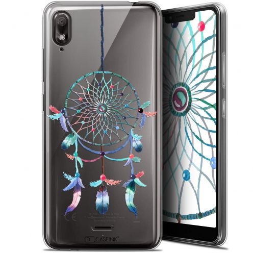 "Coque Gel Wiko View 2 GO (5.93"") Extra Fine Dreamy - Attrape Rêves Rainbow"