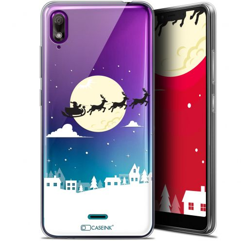 "Coque Gel Wiko View 2 GO (5.93"") Extra Fine Noël 2017 - Flying Stanta"