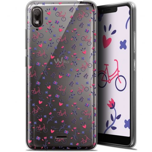 """Coque Gel Wiko View 2 GO (5.93"""") Extra Fine Love - Bicycle"""