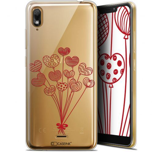 """Coque Gel Wiko View 2 GO (5.93"""") Extra Fine Love - Ballons d'amour"""