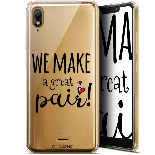 "Coque Gel Wiko View 2 GO (5.93"") Extra Fine Love - We Make Great Pair"