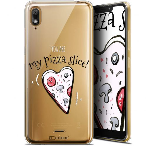 "Coque Gel Wiko View 2 GO (5.93"") Extra Fine Love - My Pizza Slice"