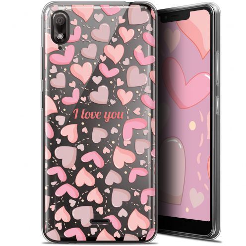 "Coque Gel Wiko View 2 GO (5.93"") Extra Fine Love - I Love You"