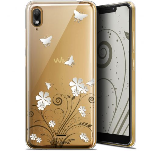 """Coque Gel Wiko View 2 GO (5.93"""") Extra Fine Summer - Papillons"""