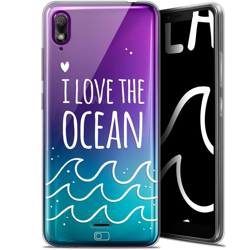 "Coque Gel Wiko View 2 GO (5.93"") Extra Fine Summer - I Love Ocean"