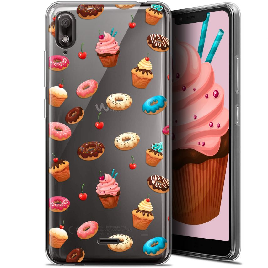 """Coque Gel Wiko View 2 GO (5.93"""") Extra Fine Foodie - Donuts"""