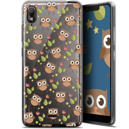 "Coque Gel Wiko View 2 GO (5.93"") Extra Fine Summer - Hibou"