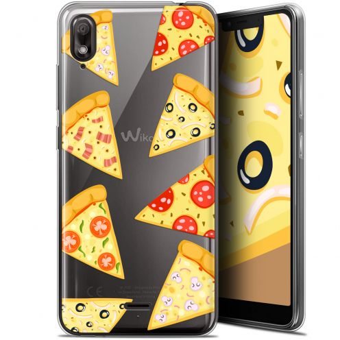 "Coque Gel Wiko View 2 GO (5.93"") Extra Fine Foodie - Pizza"