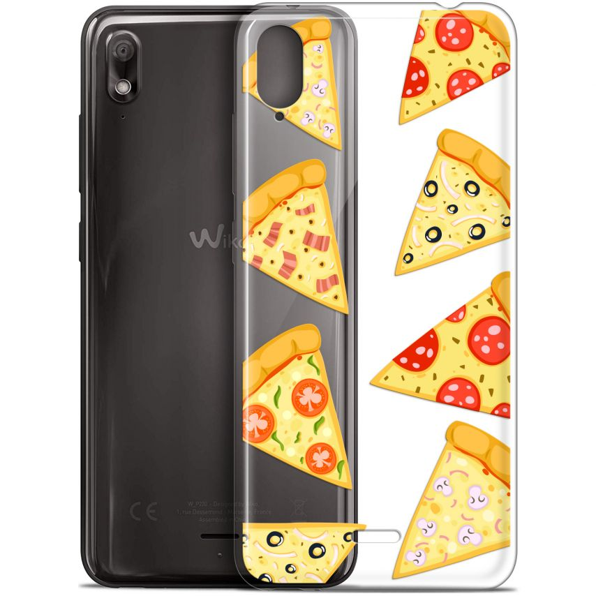 """Coque Gel Wiko View 2 GO (5.93"""") Extra Fine Foodie - Pizza"""