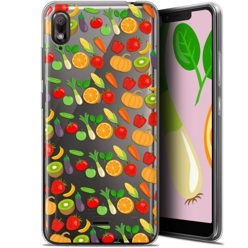 "Coque Gel Wiko View 2 GO (5.93"") Extra Fine Foodie - Healthy"