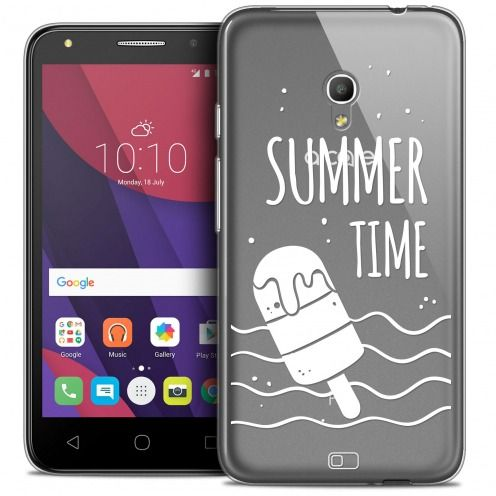 "Coque Crystal Gel Alcatel Pixi 4 5.0"" (5045X) Extra Fine Summer - Summer Time"