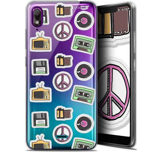 "Coque Gel Wiko View 2 GO (5.93"") Extra Fine Motif - Vintage Stickers"