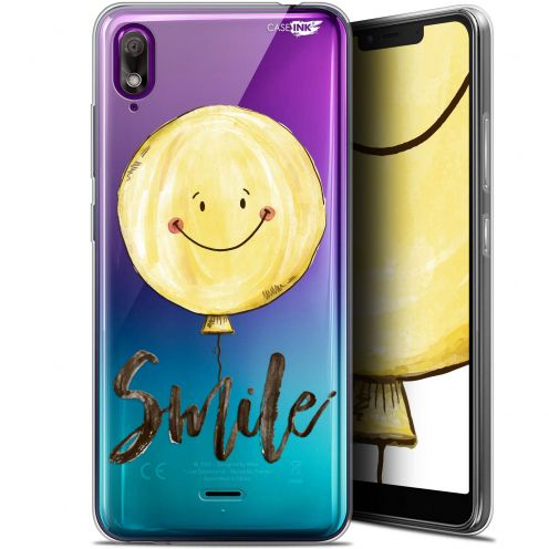 "Coque Gel Wiko View 2 GO (5.93"") Extra Fine Motif - Smile Baloon"
