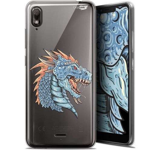 "Coque Gel Wiko View 2 GO (5.93"") Extra Fine Motif - Dragon Draw"