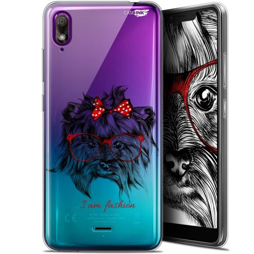 "Coque Gel Wiko View 2 GO (5.93"") Extra Fine Motif - Fashion Dog"