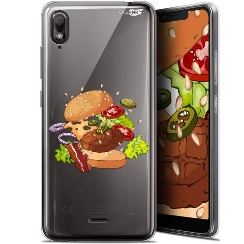 "Coque Gel Wiko View 2 GO (5.93"") Extra Fine Motif - Splash Burger"