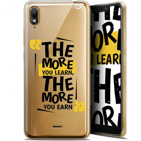 "Coque Gel Wiko View 2 GO (5.93"") Extra Fine Motif - The More You Learn"