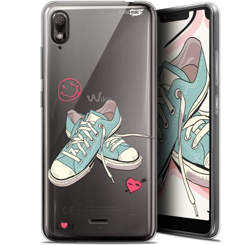 """Coque Gel Wiko View 2 GO (5.93"""") Extra Fine Motif - Mes Sneakers d'Amour"""