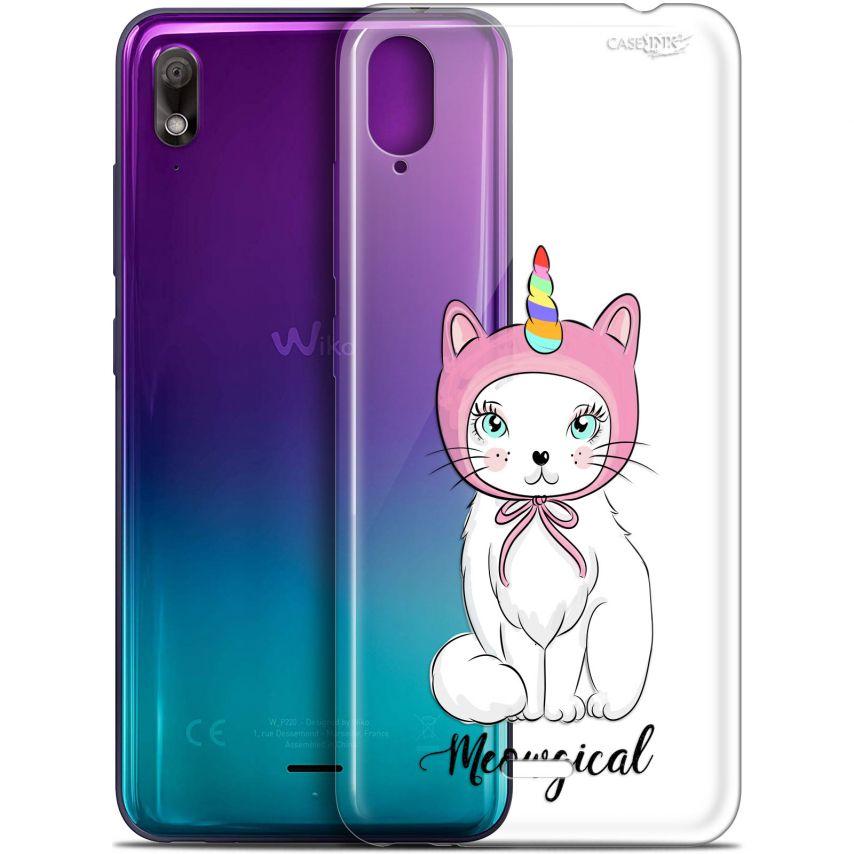 "Coque Gel Wiko View 2 GO (5.93"") Extra Fine Motif - Ce Chat Est MEOUgical"