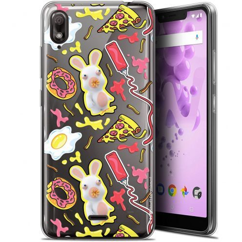 """Coque Gel Wiko View 2 GO (5.93"""") Extra Fine Lapins Crétins™ - Egg Pattern"""