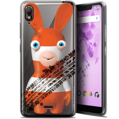 """Coque Gel Wiko View 2 GO (5.93"""") Extra Fine Lapins Crétins™ - On the Road"""