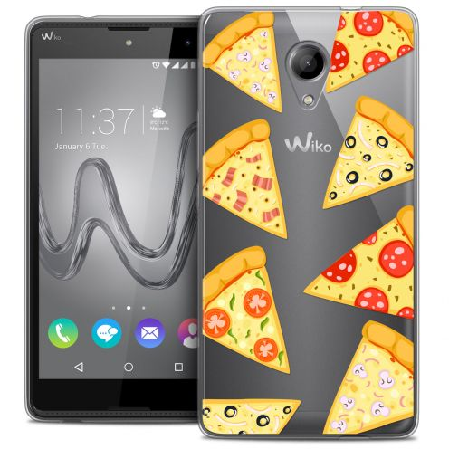Coque Crystal Gel Wiko Robby Extra Fine Foodie - Pizza