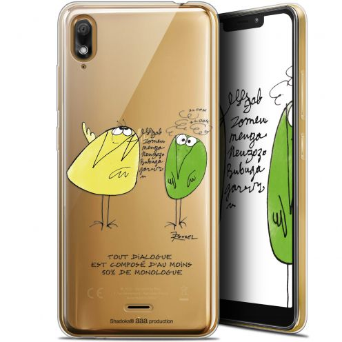 "Coque Gel Wiko View 2 GO (5.93"") Extra Fine Les Shadoks® - Le Dialogue"