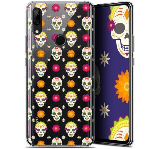 """Coque Gel Huawei P Smart Z (6.6"""") Extra Fine Halloween - Skull Halloween"""