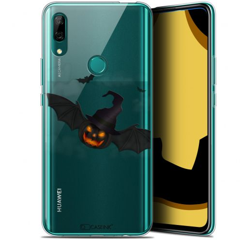 "Coque Gel Huawei P Smart Z (6.6"") Extra Fine Halloween - Chauve Citrouille"