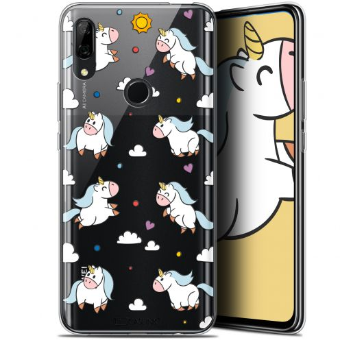 "Coque Gel Huawei P Smart Z (6.6"") Extra Fine Fantasia - Licorne In the Sky"