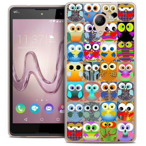 Coque Crystal Gel Wiko Robby Extra Fine Claude - Hibous
