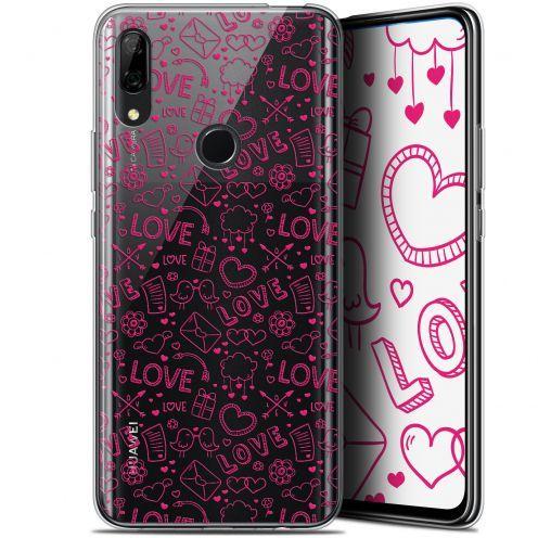 "Coque Gel Huawei P Smart Z (6.6"") Extra Fine Love - Doodle"
