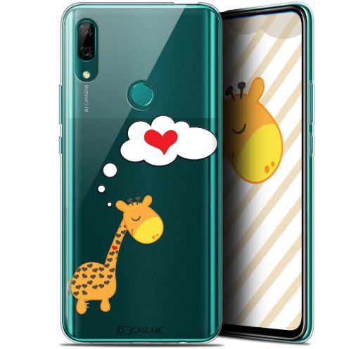 "Coque Gel Huawei P Smart Z (6.6"") Extra Fine Love - Girafe Amoureuse"