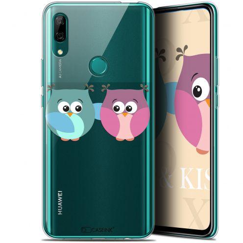 """Coque Gel Huawei P Smart Z (6.6"""") Extra Fine Love - Hibous à deux"""