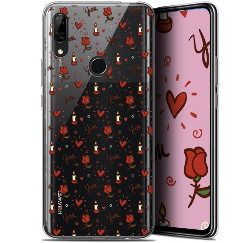 "Coque Gel Huawei P Smart Z (6.6"") Extra Fine Love - Bougies et Roses"