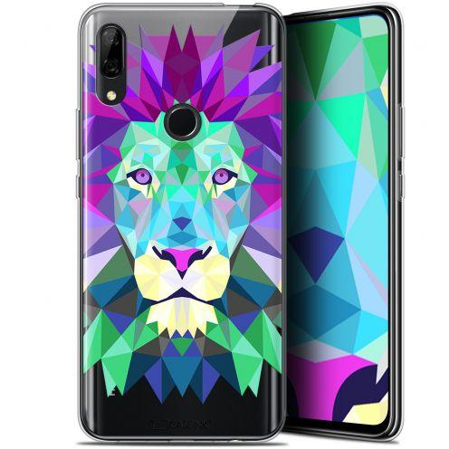"Coque Gel Huawei P Smart Z (6.6"") Extra Fine Polygon Animals - Lion"