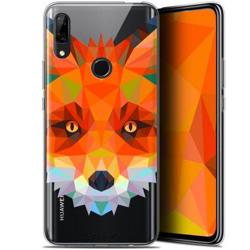"Coque Gel Huawei P Smart Z (6.6"") Extra Fine Polygon Animals - Renard"