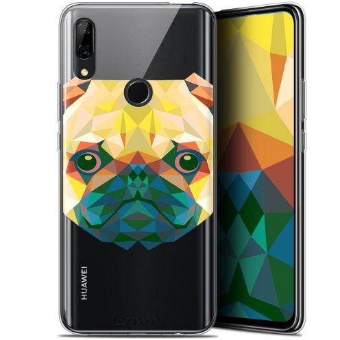 """Coque Gel Huawei P Smart Z (6.6"""") Extra Fine Polygon Animals - Chien"""