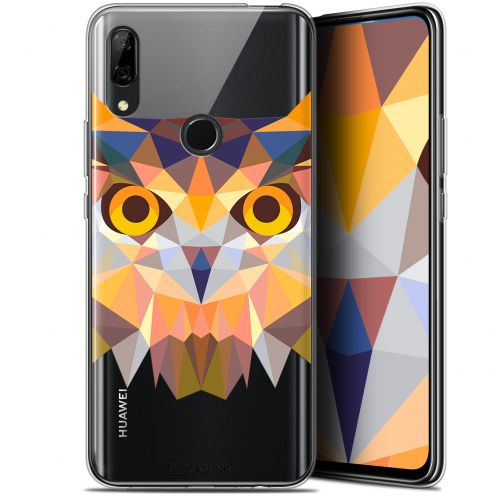 "Coque Gel Huawei P Smart Z (6.6"") Extra Fine Polygon Animals - Hibou"