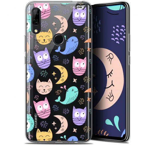 """Coque Gel Huawei P Smart Z (6.6"""") Extra Fine Motif - Chat Hibou"""