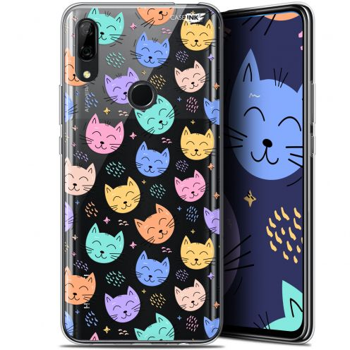 "Coque Gel Huawei P Smart Z (6.6"") Extra Fine Motif - Chat Dormant"
